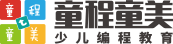 兰州西站万辉广场童程童美少儿编程培训logo
