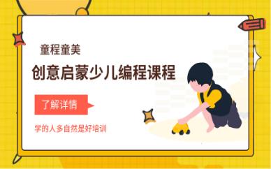 广州滨江东童程童美启蒙少儿编程