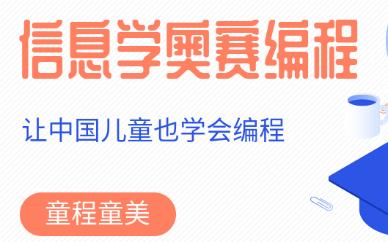 广州滨江东童程童美信息学奥赛编程课程