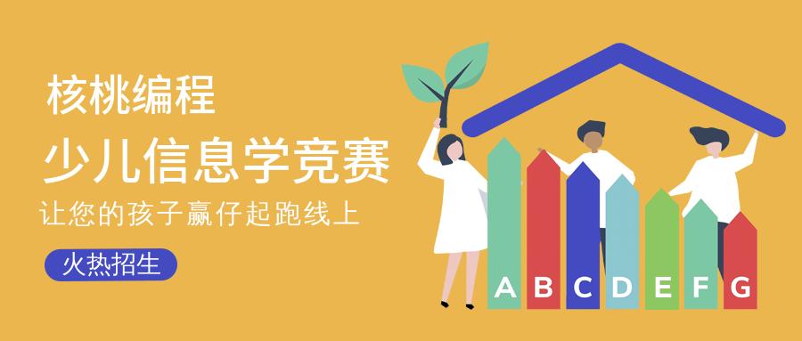 沈阳核桃少儿编程信息学竞赛培训班