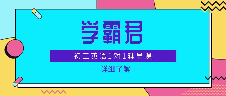天津初三英语1对1辅导课