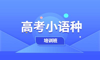 北京朝阳高考小语种培训班