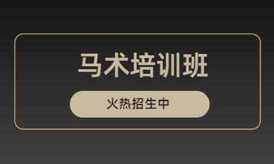 北京顺义好骑士嘉豪马术培训