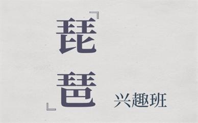 上海松江琵琶培训课